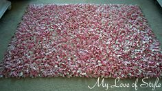 DIY Shag Rag Rug - make with old t-shirts as the biggest $ seems to be buying the fabric. Multi-color would be fun, anyway.