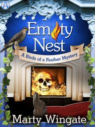 Empty Nest By Marty Wingate -  When a tourist is killed in Julia's quaint British village, she'll do anything to catch the culprit. Can she juggle the case, her job, and her boyfriend without winding up dead? A cozy mystery for fans of M. C. Beaton!