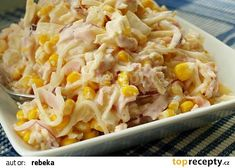 Raw Food Recipes, Pasta Recipes, Salad Recipes, Cooking Recipes, Healthy Recipes, Brunch Casserole, Vegetable Casserole, Vegetable Salad, How To Cook Pasta