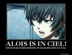 alois x ciel lemon | Alois is in Ciel by MisaMichaelis