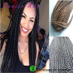 3s Box Braids Hair Long Length Freetress Crochet Box Braids