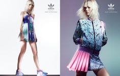 Fashion Copious - Marjan Jonkman for Adidas Originals by Mary Katrantzou SS 2015