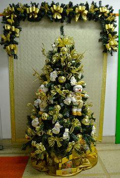 Decoração de Natal #decoracao #natal #christmas #xmas #arvoredenatal #papainoel #lindo