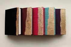 small books, with more flexible spines by Kaija of Paperiaarre
