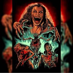 'Fright Night' by Available at Vampire Film, Vampire Art, Horror Icons, Horror Films, Back Of Neck Tattoo, Neck Tattoos, Near Dark, Werewolf Art, Horror Artwork