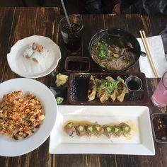#sushi #japanese #food #yumyuminmytum #lunch #lychee #lemonade #coke #cocacola #hot #soba #noodles #soup #appetizer #fried #beef #gyoza #popcorn #lobster #roll #tuna #tataki #avocado #albacore #wasabi #yumyuminmytum #richard #salmon by onyxlii