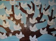 El Día de la Paz está a la vuelta de la esquina aquí os dejamos la recopilación de recursos (vídeos, cuentos, disfraces, manualidades e ideas... Harmony Day, Art For Kids, Crafts For Kids, Peace Pole, Material Research, Teaching Art, Ideas Para, Decoupage, Art Projects
