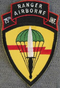 U. S. Army issue 75th Infantry Airborne Ranger (NATO) patch brom Best Emblem