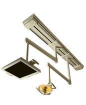 Lámpara cialítica dental con monitores de vídeo / 2 brazos