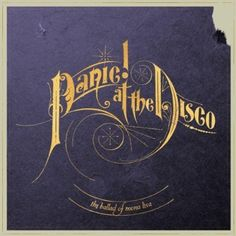 Panic! At The Disco - Simplistic, Record style, Logo
