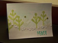Stampin' Up! demonstrator Amy R's project showing a fun alternate use for the Watercolor Winter Simply Created Card Kit.