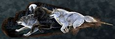 Moonlight Run Feather Print of the original by Sandra SanTara. Beautiful print of the original painted feather fan featuring a running wolf pack. Wolf Painting, Feather Painting, Feather Art, Tribal Wolf Tattoo, Wolf Tattoos, Turkey Feathers, Different Art Styles, Gourd Art, Wildlife Art