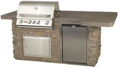 Bull Power BBQ Outdoor Kitchens (Rock/Brick) - would be nice...
