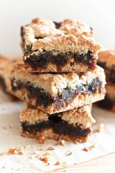 Paleo Date Squares | by Sonia! The Healthy Foodie--Entirely Grain, Gluten, Dairy AND Refined Sugar Free