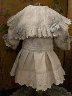 ~~~ Most Beautiful French Bebe Three Piece Costume ~~~