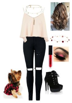 """""""Untitled #295"""" by camipimentel1 ❤ liked on Polyvore featuring Topshop, Ettika and Karen Neuburger"""