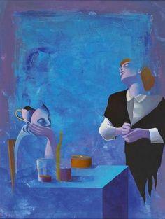 """Sem Título"" Alfredo Luz, pintor português"". - Carminda Lopes MIA - Google+"