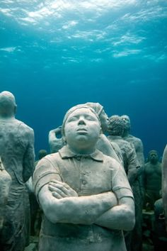 """MUSA"" CANCUN UNDERWATER MUSEUM, MEXICO, 2013"