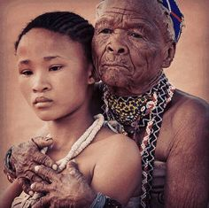 Khoi and San people.