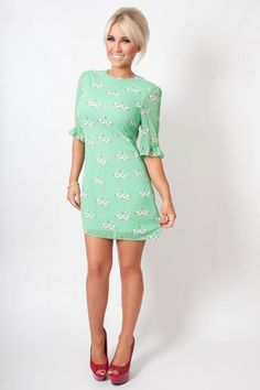 Sugarhill boutique kissing swans dress