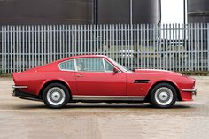 Aston Martin has a long history of producing beautiful GTs, and when the V8 Vantage debuted in 1977, it combined Aston's design heritage with a...