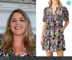 On Today, Today Show, Fashion Tv, Fashion Outfits, Jenna Bush Hager, Rent The Runway, Floral, Casual, Clothes