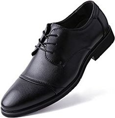 536c33fec096 Marino Oxford Dress Shoes for Men - Formal Leather Shoes - Casual Classic Mens  Shoes -