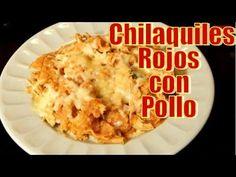 Chilaquiles Rojos con Pollo | Casayfamiliatv ** Casayfamiliatv.com