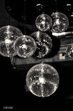 disco balls! reminds us of a magical dries van noten show we went to...