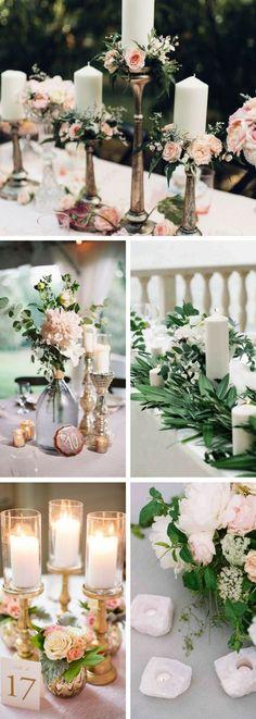 Elegant Wedding Centerpieces Ideas | Romantic Wedding Decoration | Rustic wedding centerpieces