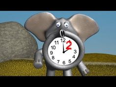 Telling Time for Children - Learn Hours - YouTube
