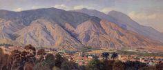 Maestro Manuel Cabré - Vista del valle de Caracas desde el Calvario
