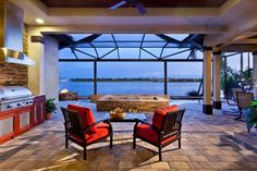 Outdoor Kitchens, summer outdoor bbq grills serving Naples Sarasota and Tampa Florida with award winning design and products. Outdoor Kitchen Cabinets, Outdoor Kitchens, Outdoor Furniture Sets, Outdoor Decor, Outdoor Living, House Plans, Bbq, New Homes, Patio