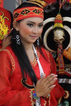 Female charm Dayak tribe, Dayak Culture. @aussie555
