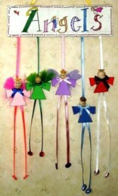 Angel Crafts for Kids and Adults - tutorials for lots of different kinds & styles