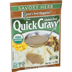 Road's End Organics Gravy Mix - Organic - Savory Herb - 1 Oz - Case Of 12