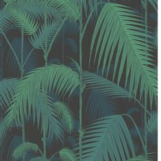 Contemporary Restyled - Palm Jungle - 95-1003 Cole & Son behang wallpaper behangpapier behang woonkamer behang slaapkamer interieur design