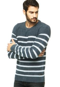 Suéter Ellus Azul