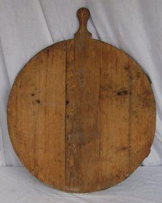 Round Bread Board......