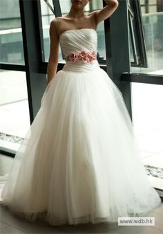 bridal dresses A-line Strapless Natural waist Taffeta Wedding Dress  $198.98
