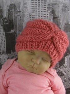 Baby Beehive Turban by madmonkeyknits2