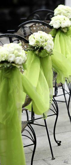 Wedding Aisle Decorations ● ❝Cypress❞ Autumn Pantone 2014   Green wedding