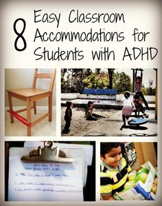 8 easy classroom accommodations for students with ADHD
