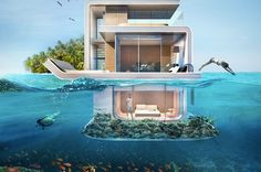 Casas flutuantes que serão construídas emDubai são incríveis: veja fotos