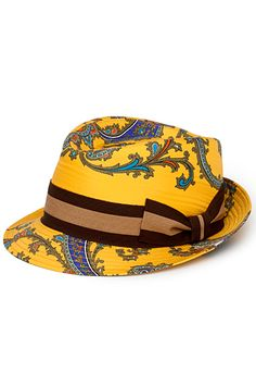 D & G - Women's Accessories Spring Hats, Spring Summer, Painted Hats, Love Hat, Yellow Fashion, Mens Caps, Mellow Yellow, Classy And Fabulous, Hats For Men