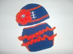 Items similar to Newborn Girl Hat and Diaper Cover  22e8a8f4dfa4
