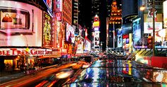 Times Square NYC Free Map Guide