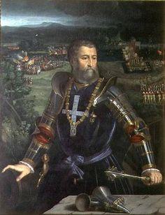 Alfonso d'Este (Dosso Dossi, c. 1520)Duke of Ferrara, patron of Tiziano , Giovanni Bellini , Dosso Dossi