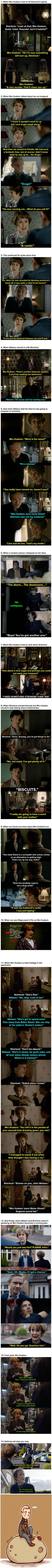 "Here Is Undeniable Proof That Mrs Hudson Is The Best Thing About ""Sherlock"" <--- this is why I am so okay with being called Mrs. Hudson."