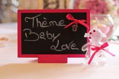 """Nouveau thème """"Baby Love"""" ! Rendez votre événement unique avec nos créations, baptême, baby shower..."""